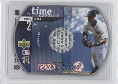 1999 Upper Deck Powerdeck - Time Capsule - CD-ROM #R4 - Derek Jeter