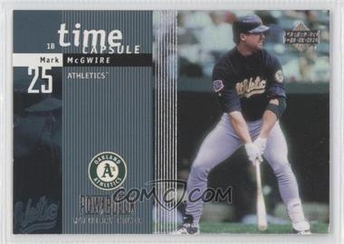 1999 Upper Deck Powerdeck - Time Capsule #T3 - Mark McGwire