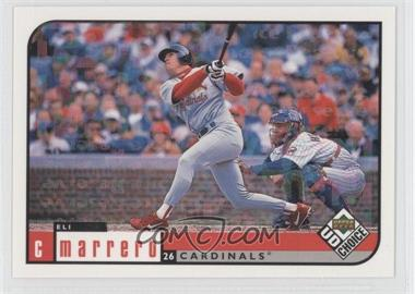 1999 Upper Deck UD Choice - [Base] - Prime Choice Reserve #132 - Eli Marrero /100