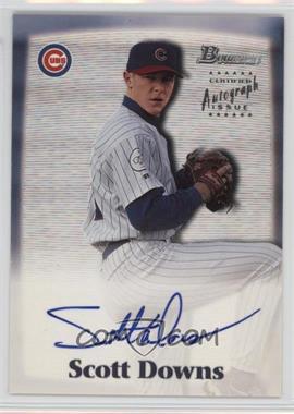 2000 Bowman - Autographs #SD - Scott Downs