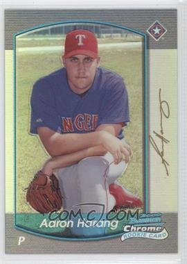 2000 Bowman Chrome - [Base] - Refractor #190 - Aaron Harang