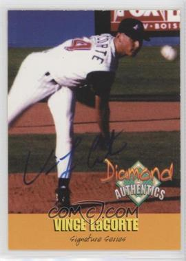 2000 Diamond Authentics Signature Series - [Base] - Autorgraphs [Autographed] #19 - Vince LaCorte /3250