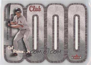 2000 Fleer 3000 Club - Multi-Product Insert [Base] #CARI - Cal Ripken Jr.
