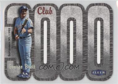 2000 Fleer 3000 Club - Multi-Product Insert [Base] #GEBR - George Brett