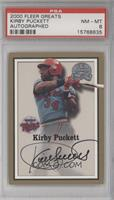 Kirby Puckett [PSA 8 NM‑MT]