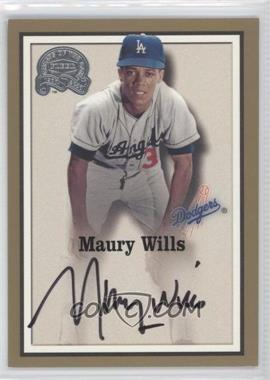 2000 Fleer Greats of the Game - Autographs #MAWI - Maury Wills