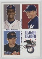Pedro Martinez, David Cone, Mike Mussina