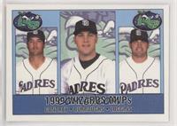 1999 Wizards MVPs - Clay Condrey, Sean Burroughs, Josh Loggins