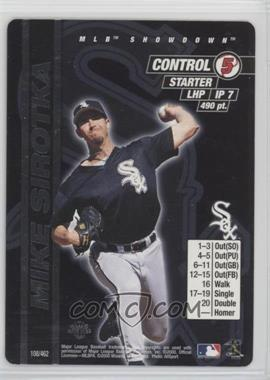 2000 MLB Showdown - [Base] - 1st Edition #108 - Mike Sirotka
