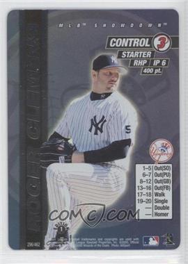2000 MLB Showdown - [Base] - 1st Edition #296 - Roger Clemens