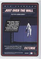 Defense - Just Over the Wall (Ken Griffey Jr.)