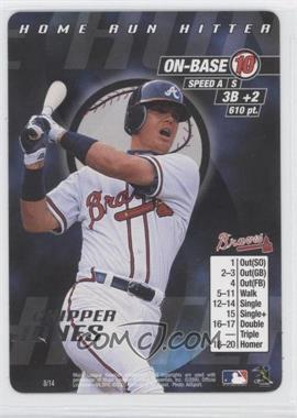 2000 MLB Showdown Home Run Hitter - [Base] #8 - Chipper Jones