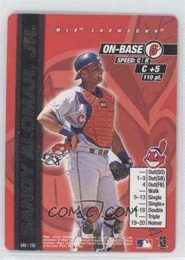 2000 MLB Showdown Pennant Run - [Base] #040 - Sandy Alomar Jr.