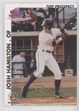 2000 Multi-Ad Sports South Atlantic League Top Prospects - [Base] #15 - Josh Hamilton