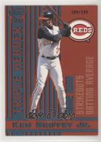 Ken Griffey Jr. [Noted] #/199