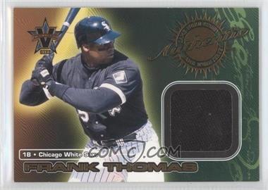 2000 Pacific Vanguard - Game-Worn Jerseys #3 - Frank Thomas
