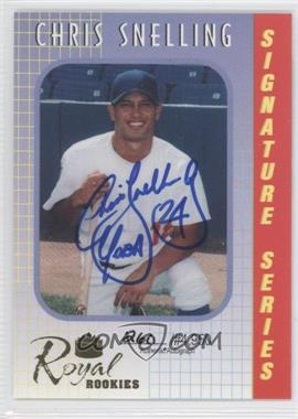 2000 Royal Rookies - Signature Series - Autographs [Autographed] #10 - Chris Snelling /4950