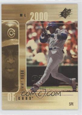 2000 SPx - [Base] #21 - Sammy Sosa