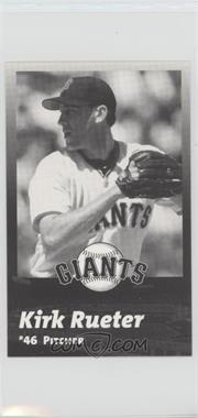 2000 San Francisco Giants Team Issue - [Base] #46 - Kirk Rueter