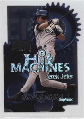 2000 Skybox Metal - Hit Machines #7 H - Derek Jeter