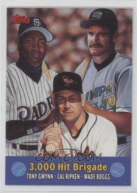 2000 Topps - Combos - Limited Edition #TC10 - Tony Gwynn, Cal Ripken Jr., Wade Boggs