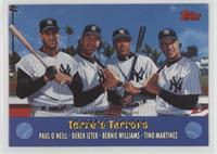 Derek Jeter, Bernie Williams, Tino Martinez, Paul O'Neill