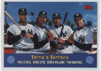 Torre's Terrors (Paul O'Neil, Derek Jeter, Bernie Williams, Tino Martinez)