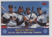 Torre's Terrors (Paul O'Neil, Derek Jeter, Bernie Williams, Tino Martinez)