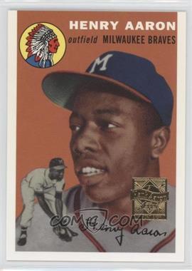2000 Topps - Hank Aaron Reprints #1 - Hank Aaron