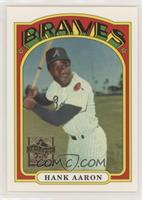 Hank Aaron (1972 Topps) [Good to VG‑EX]