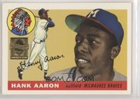 Hank Aaron (1955 Topps) [EX to NM]