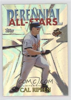 2000 Topps - Perennial All-Stars - Limited Edition #PA4 - Cal Ripken Jr.