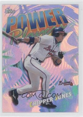2000 Topps - Power Players #P15 - Chipper Jones