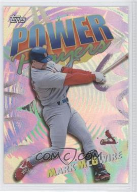 2000 Topps - Power Players #P3 - Mark McGwire