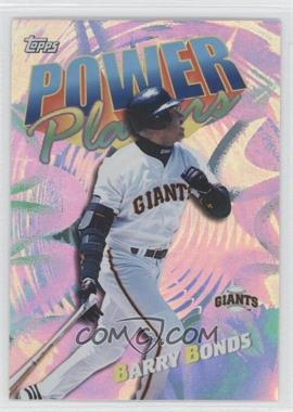 2000 Topps - Power Players #P5 - Barry Bonds