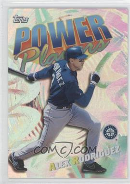 2000 Topps - Power Players #P8 - Alex Rodriguez