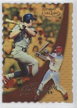 2000 Topps Gold Label - [Base] - Class 1 Gold #78 - J.D. Drew /100