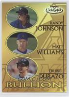 Randy Johnson, Matt Williams, Erubiel Durazo