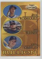 Alex Rodriguez, Jay Buhner, John Olerud