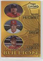 Mark McGwire, J.D. Drew, Rick Ankiel