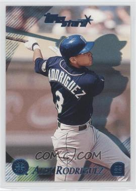 2000 Topps Stars - [Base] - Metallic Blue #57 - Alex Rodriguez /299