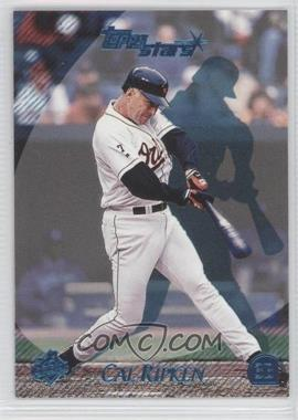 2000 Topps Stars - [Base] - Metallic Blue #72 - Cal Ripken Jr. /299