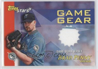 2000 Topps Stars - Game Gear Jerseys #GGJ2 - Brad Penny
