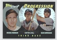 Sean Burroughs, Brooks Robinson, Chipper Jones