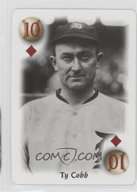 2000 U.S. Playing Card All-Century Team - Box Set [Base] #10D - Ty Cobb