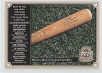 Mickey Mantle Game-Used Bat
