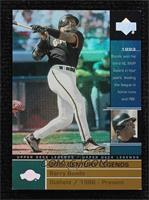 Barry Bonds [Noted] #/100