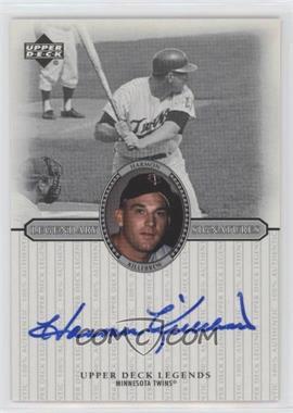 2000 Upper Deck Legends - Legendary Signatures #S-HK - Harmon Killebrew
