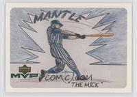 Mickey Mantle (Drawn by Kat Rhyne)