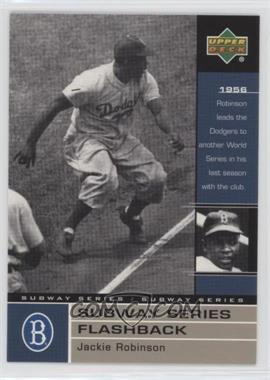 2000 Upper Deck Subway Series - [Base] #NY29 - Jackie Robinson